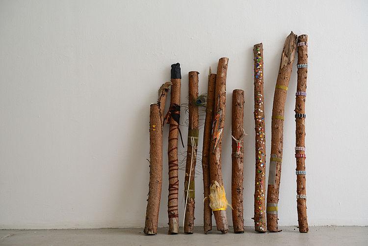 Protect  wood, multiple 120 cm x 80 cm, 2014